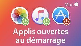 Choisir les applis à ouvrir au démarrage - Tutoriel Mac