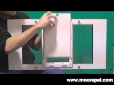 Ideal Flexible Sash Window Pet Door Insert Youtube