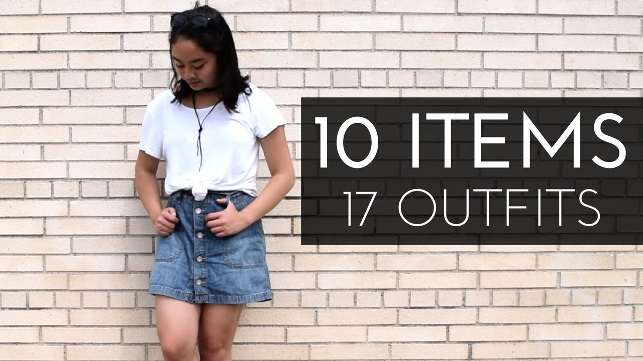 [VIDEO] - 10 Items From 17 Outfits | Summer Capsule Wardrobe 2017 6