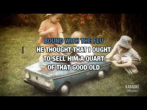 Mountain Dew in the style of Traditional Bluegrass | Karaoke with Lyrics
