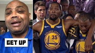 Charles Barkley blames the Warriors for Kevin Durant's Achilles injury   Get Up