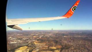 Mango Airlines, Johannesburg to Cape Town - HD