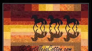 Western Quilt Patterns by Castilleja Cotton 2018