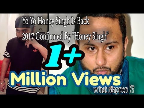 Honey Singh says-My fans deserve to know what happened to me