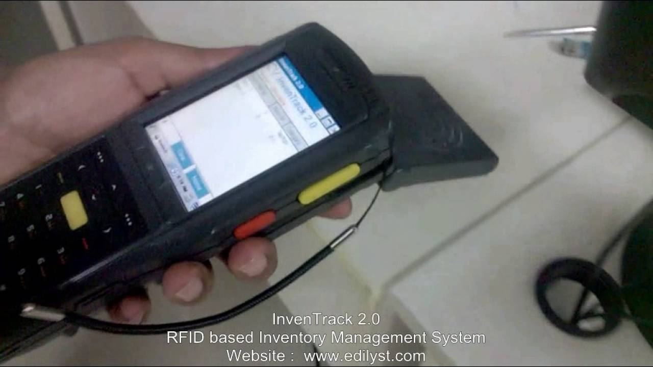 Home Page - RFID Inventory Tracking Solution