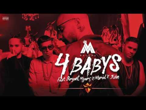Maluma   Cuatro Babys Cover  ft  Noriel, Bryant Myers, Juhn
