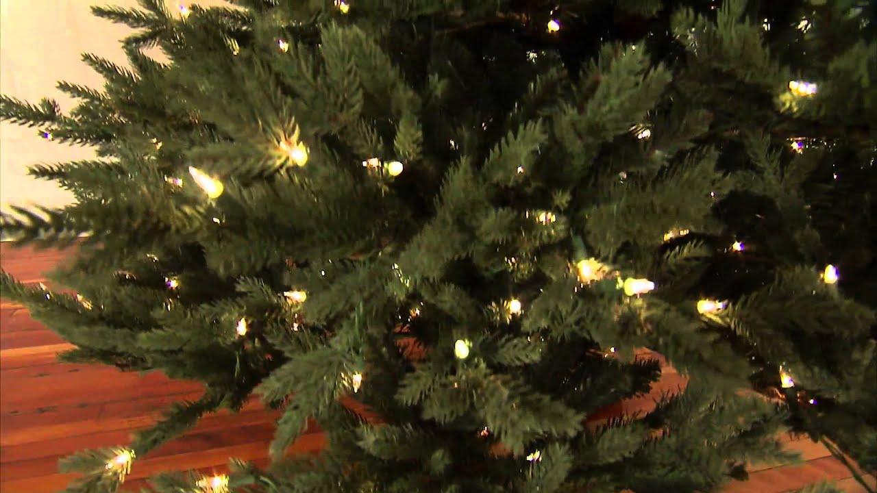 Nordmann Fir Pro Shape Artificial Christmas Tree - YouTube