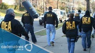 Agentes de la DEA en fiestas del narco