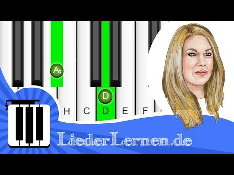 Juliane Werding - Am Tag als Conny Kramer starb - Klavier lernen - Musiknoten - Akkorde