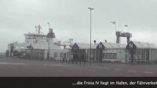 Orkan Christian auf Norderney