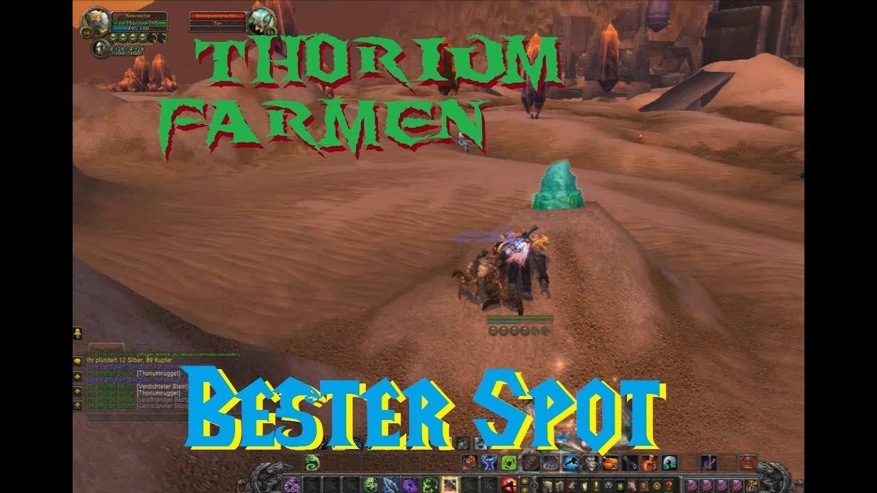 wow classic thorium farmen