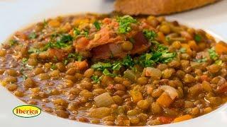 Вкусная чечевица [Рецепты от Iberica]