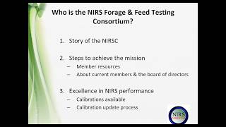 Learn About the NIRS Forage & Feed Testing Consortium