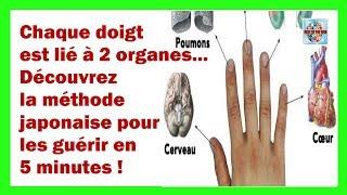 Chaque doigt est lié à 2 organes... Découvrez la méthode japonaise pour les guérir en 5 minutes