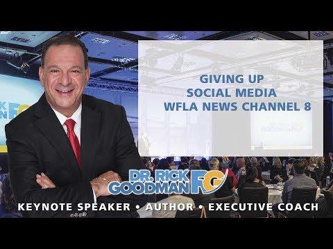 """""""Giving Up Social Media""""WFLA News."""