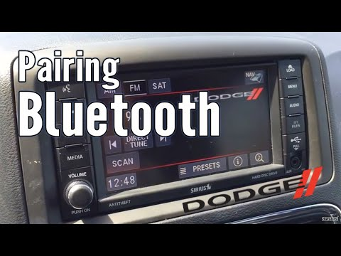 How to Pair Bluetooth Phone with Dodge Caravan 2017