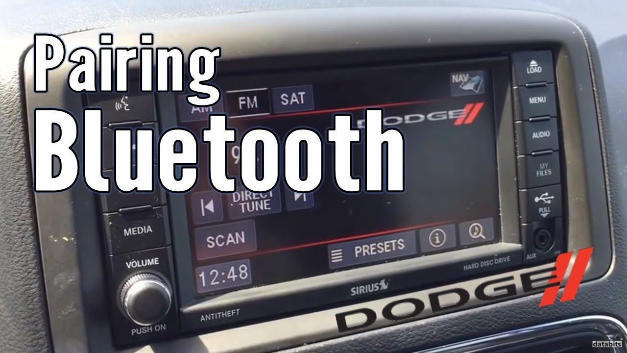 How To Pair Bluetooth Phone With Dodge Caravan 2017 Youtube