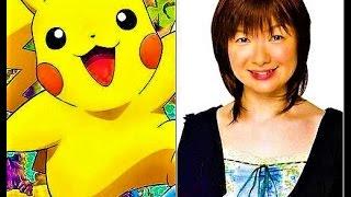 Real Voice Behind Pikachu {  Ikue Otani }