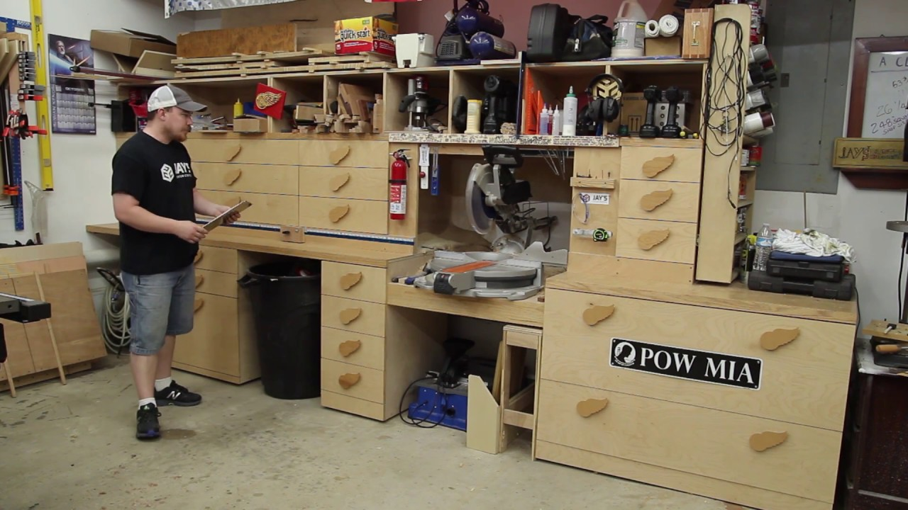 The Ultimate Miter Saw Station Youtube