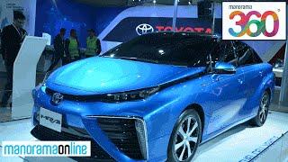 Toyota Pavilion At Auto Expo 2016 | Innova Crysta, Prius, Mirai | VR 360 Degree | Manorama 360
