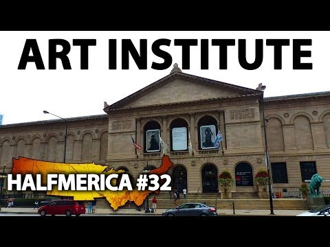 Weird Stuff At The Art Institute Of Chicago -- #Halfmerica