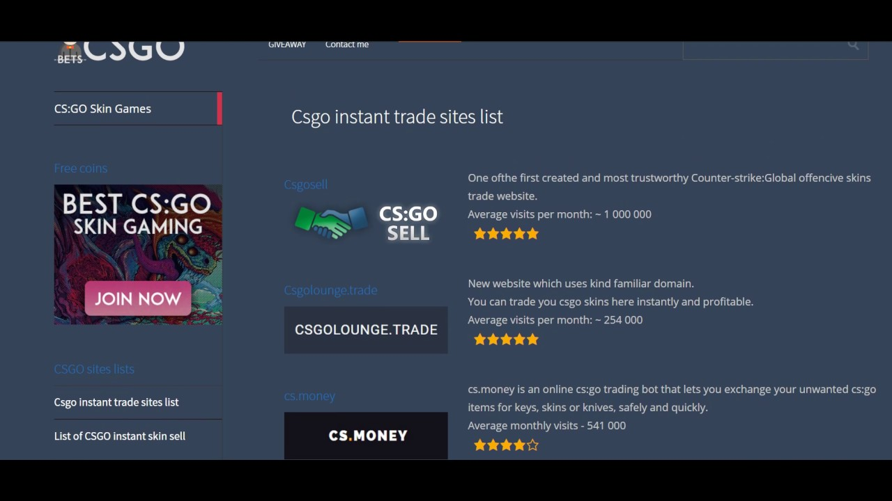 Csgo Trading Sites Trade Your Skins Instantly