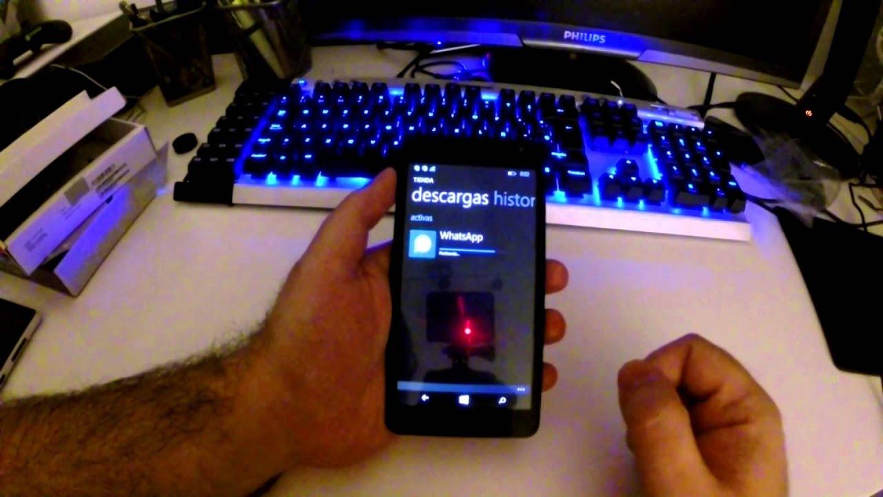 35899445db0 Lumia 535 - Descargar Whatsapp y otras aplicaciones - YouTube