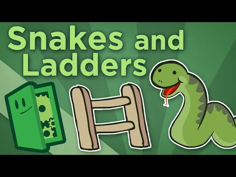 Snakes And Ladders - How The Meaning Of An Ancient Children's Game Adapted Over Time - Extra Credits