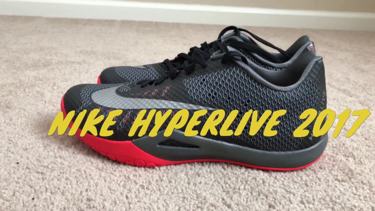 8b03909efd51 Performance Review Nike HyperLive - YouTube