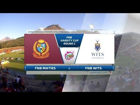FNB Varsity Cup 2019 |  Maties vs Wits