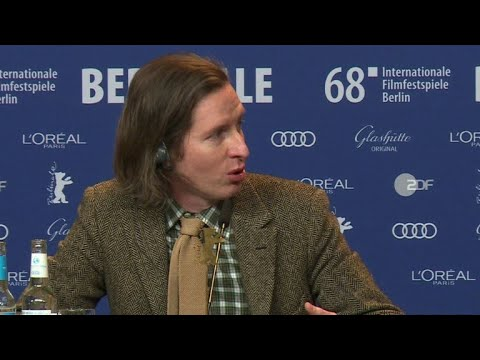 Wes Anderson discusses new animated film at Berlin film festival