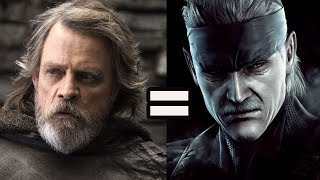 Why Luke Skywalker is Solid Snake: Analysis on the Aged Hero