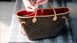 Обзор сумки Louis Vuitton Neverfull MM