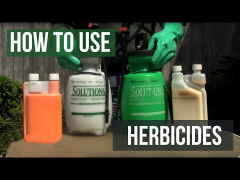 How to Use Herbicides