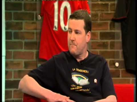 Peter Hooton on Soccer AM talking pasionately about Casuals DVD, The END Magazine and The Farm 2012