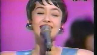 Japanese actress model and singer of Sadistic Mika Band, Karen Kiri...