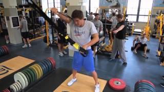 видео: Тренировка в зале американского пловца Натана Адриана Nathan Adrian Dryland Workout