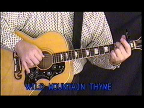Wild Mountain Thyme - James Taylor - Play Along