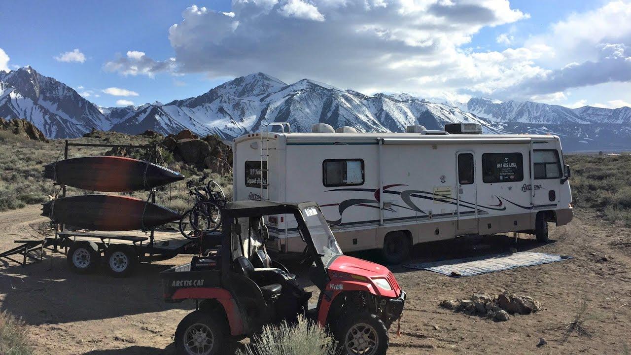 Free BLM Camping ~ Highway 395 Vlog