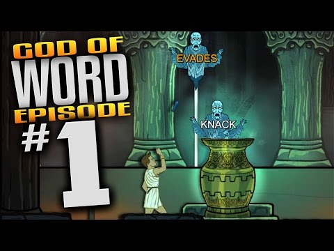 God Of Word Gameplay - Ep 1-  Let's Play God Of Word Episode 1 (Greek Mythology Themed Typing Game )