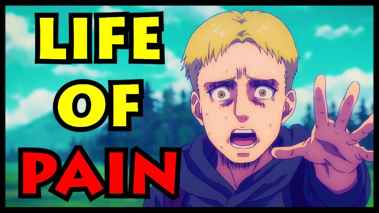 The Tragic Life Of Reiner Attack On Titan Shingeki No Kyojin Reiner Braun Explained Youtube