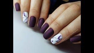 Как сделать мраморный маникюр: видео-урок и фото красивых мраморных ногтей!!!!!,Marble nail art