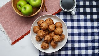 Quick And Delicious Vegan Apple Fritters • Tasty