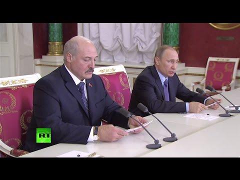Пресс-подход Владимира Путина
