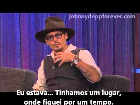 Johnny Depp no programa Jimmy Kimmel Live (2013) - Legendado