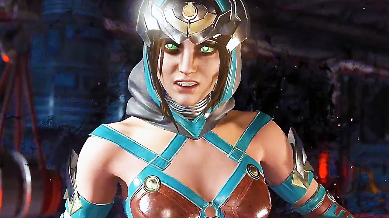 Injustice 2 Enchantress 30 Minutes Of Gameplay Fighter Pack 3