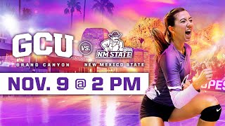 GCU Women's Volleyball vs New Mexico State November 9, 2019