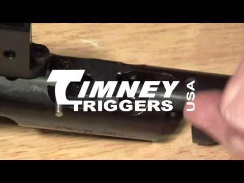 Timney CZ Trigger Installation