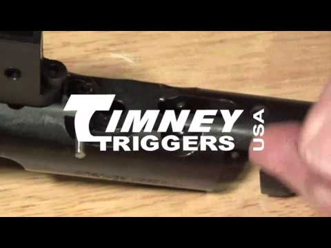 Timney CZ Trigger Installation - YouTube