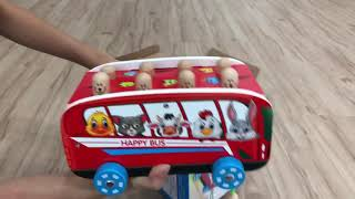Download Video WHAC-A-MOLE WOODEN BUS 🚌 KIDS GAME MP3 3GP MP4